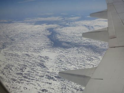above the fjords